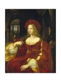 Portrait of the Vicereine of Naples  Isabel De Cardona De Requesens