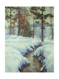 Snowladen Brook  Walter Launt Palmer (1854-1932)