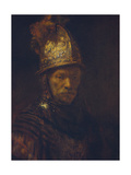 Portrait of a Man with a Golden Helmet  C 1650-55