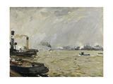 Port of Hamburg (Grey)  1916