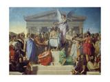 The Apotheosis of Homer  1827