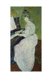 Mademoiselle Gachet Playing the Piano  1890
