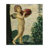 Cupid with Basket of Fruit  C 1920