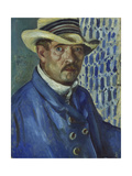 Self Portrait with Panama Hat  1912