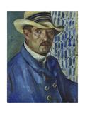 Self Portrait with Panama Hat  1912