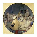 The Turkish Bath  1863