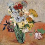 Vase with Roses and Anemones, 1890 Giclée par Vincent Van Gogh