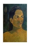 Head of a Tahitia Woman  C 1891
