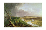 The Oxbow  View from Mount Holyoke  Northampton  Massachusetts  after a Thunderstorm  1836