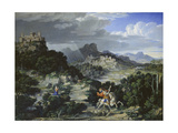 Landscape with St  George  1807