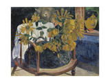 Sunflowers on a Armchair  1901
