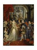 The Proxy Marriage of Marie De Medici and Henri Iv  5th October 1600  1621-25