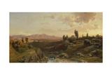Mountain Scenery in Spain  1870