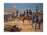Bonaparte in Egypt  21st of July 1798  1911