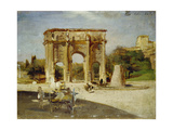 The Arch of Constantine  Rome  1882