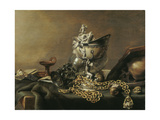 Vanitas Still-Life with Nautilus Cup  1634
