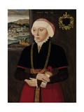 Portrait of a Lady Next to a Window  C 1560