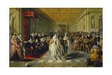 Ball at the Court of Duke of Joyeuse  1582
