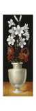 Flower Vase with Brownish-Red and White Lillies  1562