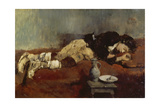 Savoyard Boy Sleeping  1869