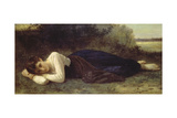 Young Woman Resting  1880