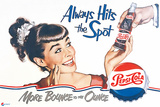 Pepsi - Always Hits the Spot 1950 Ad