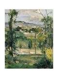 Village Behind Trees  Ile De France (Village Derriere Les Arbres  Ile De France)  C 1879