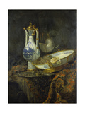 Still Life with Delft Vase and Bowl