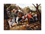 Peasants Brawling  1619
