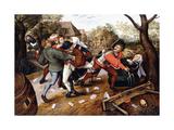 Peasants Brawling  1619