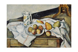 Still Life of Peaches and Pears  1888-90