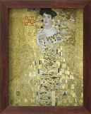 Adele Block Bauer Art texturé encadré par Gustav Klimt