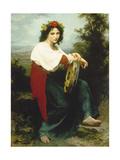 Italian Woman with Tambourine  1872