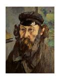 Self Portrait in a Casquette  C 1873-75