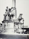 Rome: Quirinal Obelisk  1860