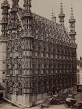 Louvain: the Townhall  1857