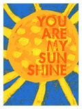 You Are My Sunshine Giclée par Lisa Weedn