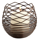 Coiled Silk Candleholder - Small