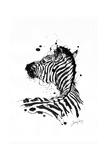 Inked Zebra