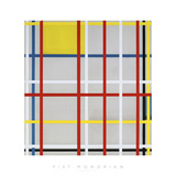 New York City, 3 Giclée par Piet Mondrian