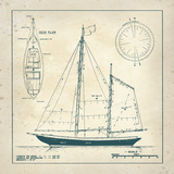 Nautical Blueprint III