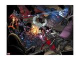 X-Men: Battle of the Atom No 1: Beast  Sentinel  Iceman  Deadpool  Grey  Jean