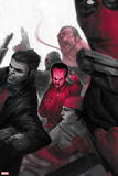 Thunderbolts No 5: Leader  Punisher  Red Hulk  Elektra