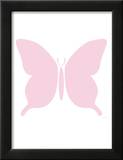 Large Pink Butterfly