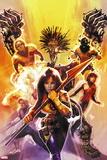 New Mutants No 15: Moonstar  Cannonball  Karma  Magma  Cypher  Warlock  Sunspot