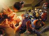 X-Men: Schism No 1: Cyclops  Wolverine  Sentinel