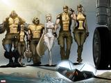 Astonishing X-Men: Xenogenesis No 1: Beast  Armor  Wolverine  Frost  Emma  Cyclops  Storm