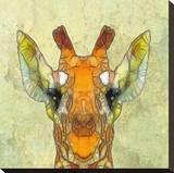 Abstract Giraffe Calf