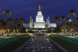 Morman Temple  Oakland  CA 3 (Iconic Buildings Christman Season)