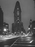 Flatiron Building  New York City  Front View at Night 1